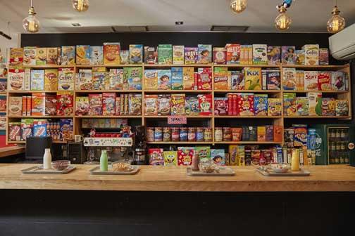 Variedad de cereales en Cereal Hunters
