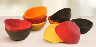 Crujientes Mini Tartaletas de colores
