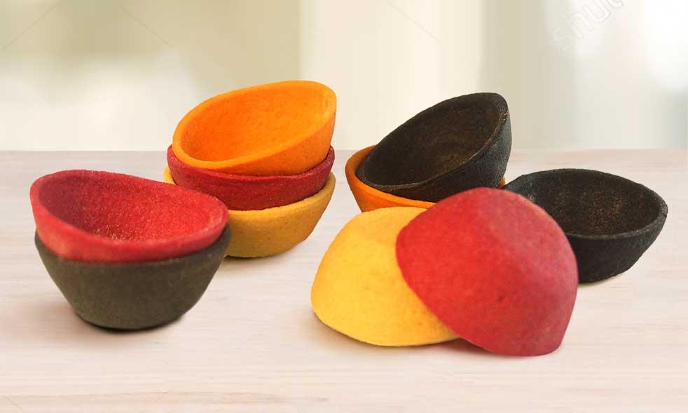 Mini tartalestas de colores de Ibepan
