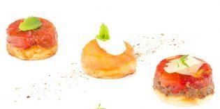 Bocados de sabores sorprendentes: Mini Tatines de Koama