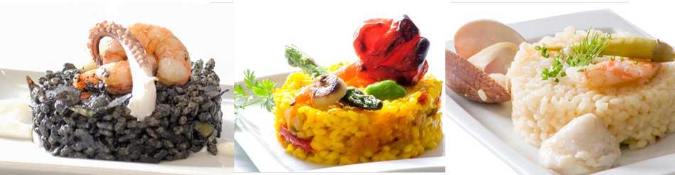 Diferentes recetas de arroz