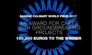Logo del Basque Culinary World Prize 2017
