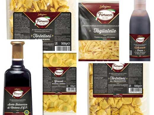 Campofrío distribuye nuevas pastas y acetos Fiorucci para la hostelería