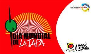 Cartel del Día Mundial de la Tapa