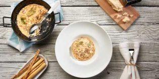 De alcachofas y bacalao, y de champiñones y espárragos: nuevos risottos de Espaella