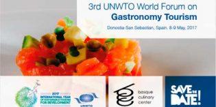 San Sebastián acoge el III Foro Mundial de Turismo Gastronómico de la OMT
