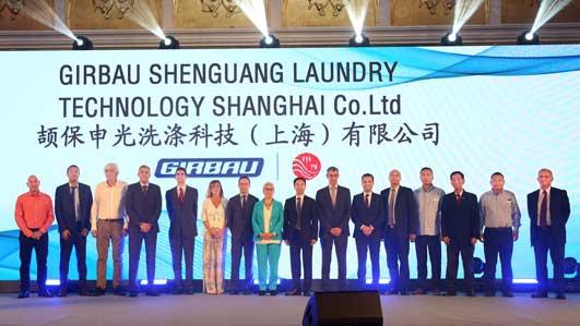 Presentación de la constitución de la joint venture entre Girbau y la firma china Shenguang