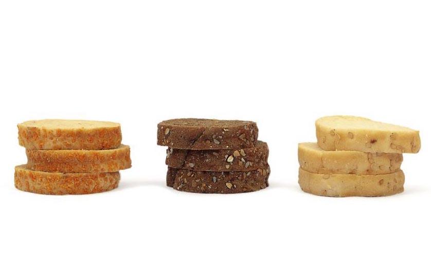 Las Mini tostas de pan de miga de Ibepan se ofrecen en tres variedades