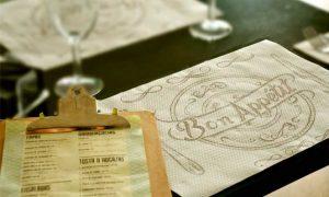 El mantel individual Bon Appetit de La Pajarita,