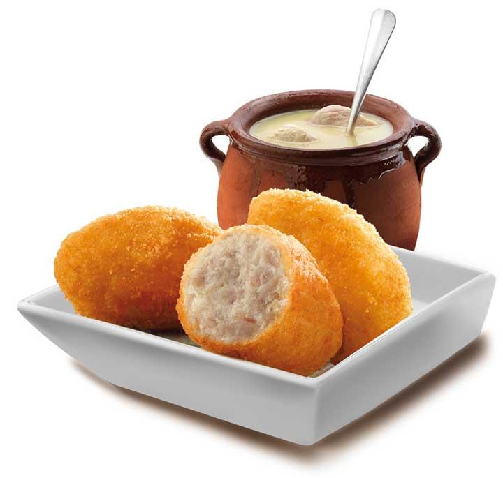 Croquetas de cocido Maheso