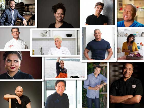 Los chefs que participarán en el World Culinary Showcase de la feria NRA 2017