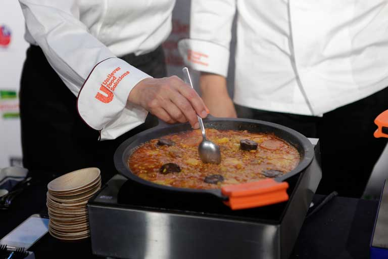 Concursos Cocina | Arroces Cocina Con Ibericos Jovenes Chefs Concursos De Interes