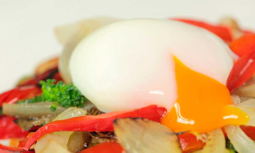Huevo a baja temperatura de Granja Campomayor