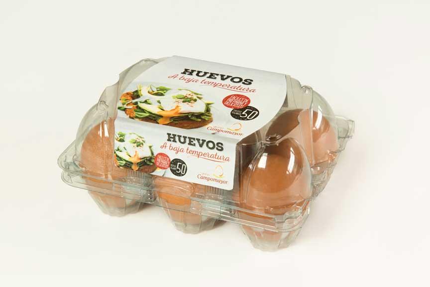 El Huevo a baja temperatura de Granja Campomayor