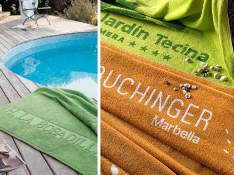 Toallas de piscina de Vayoil Textil