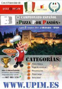Cartel Campeonato Pizza por Pasión