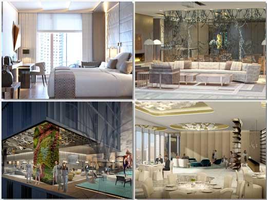 Imágenes de cómo será el interior del hotel VP Plaza España
