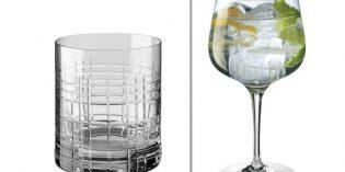 Los básicos de la cristalería que distinguen al bar