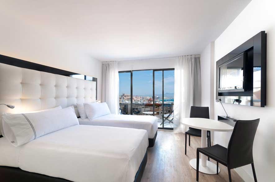 Habitación premium del Innside Palma Bosque