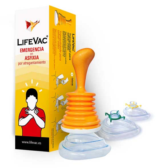 Dispositivo anti-atragantamiento LifeVac