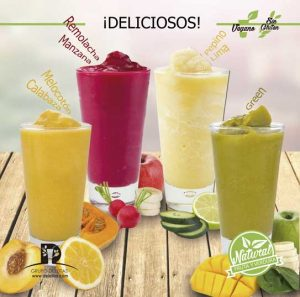 Los smoothies Natural Drinks de Deleitas