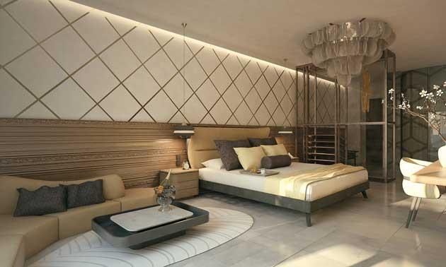 Habitación de uno de los nuevos hoteles TRS
