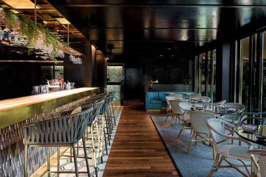 El elegante Cocktail-Bar de Zela