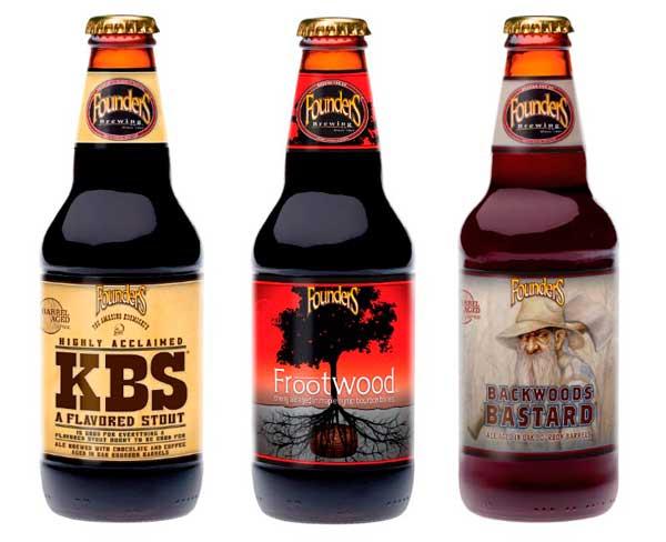 Cervezas Founders