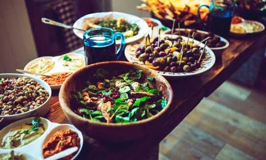 Platos vegetariabos