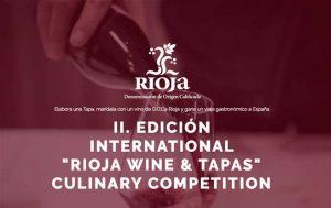 Logo concurso Rioja Wines & Tapas