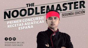 Cartel concurso The Noodlemaster