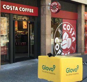 Costa Coffee ha elegido a Glovo para su servicio a domicilio
