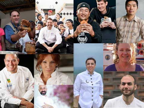 Los 10 finalistas del Basque Culinary World Prize (BCWP) 2017