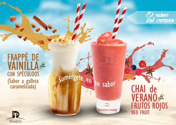 Frappés refrescantes y saludables de Natural Drinks