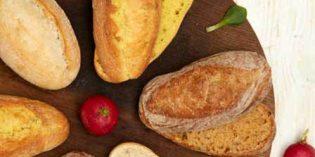 Chousa: mini panes de trigo, maíz y espelta para el restaurante