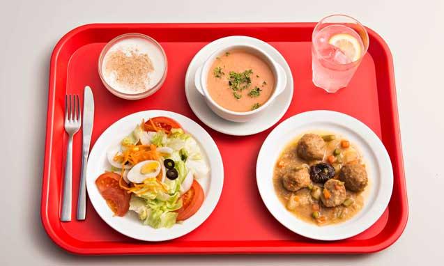 bandejas para fast food de Araven