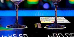 Innovación en el bar: la barra que pesa las bebidas alcohólicas