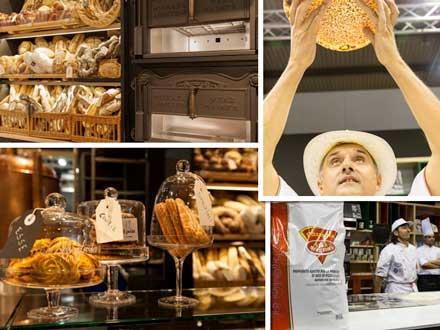 Productos de panadería, pastelería y pizzería en #Host2017