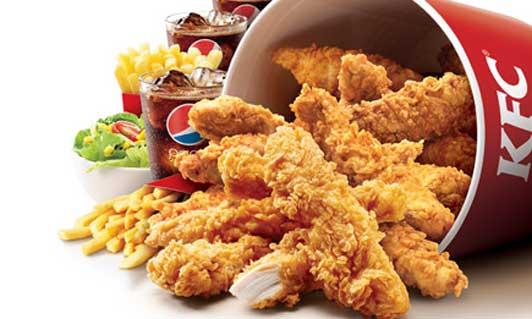 Pollo de KFC