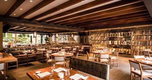 Sala del restaurante Nobu, en Marbella