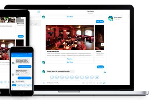 Chatbox de Stay app
