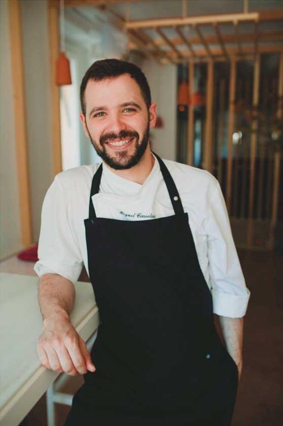 El chef Miguel Carretero Sánchez