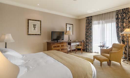 Habitación del hotel del Intercontinental Madrid