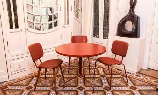 Mesas y sillas ABC de Vergés