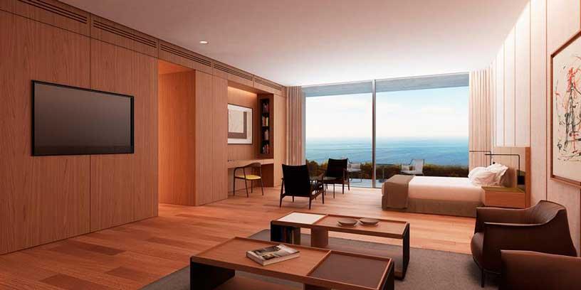 Suite del hotel Akelarre