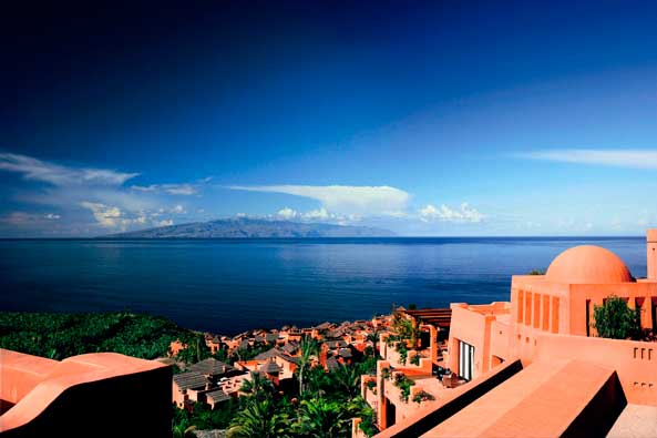 El resort Abama, en Tenerife