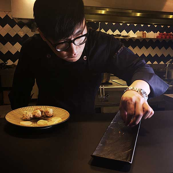 El chef Julio Zhang