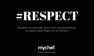 Logo teaser de los nuevos hornos mychef