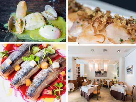 Tres platos clásicos y la sala de Goizeko Kabi