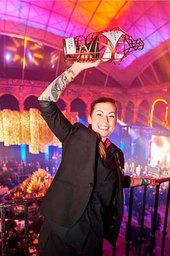 Kaitlyn Stewart, ganadora de la World Class 2017
